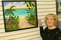 Englewood Florida Art Center Nautical Themed Art Show