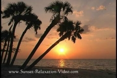 Relax at home with a Sunset Relaxation DVD